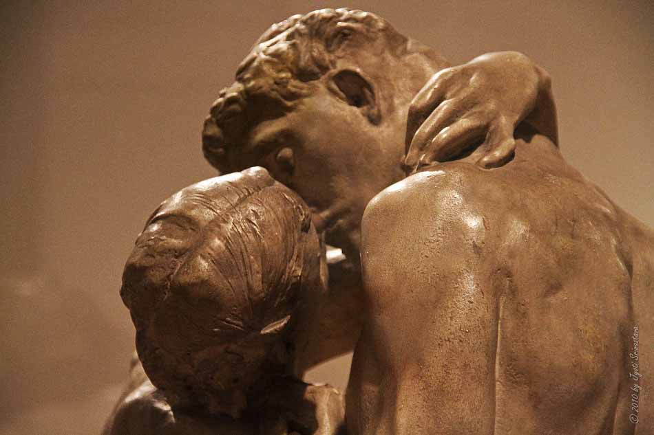 The kiss by rodin auguste