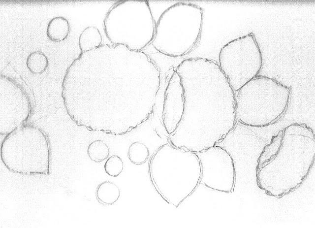 pintura em tecido risco pano de prato flores