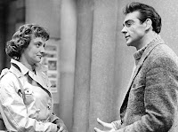Jacqueline Hill and Sean Connery in Requiem for a Heavyweight
