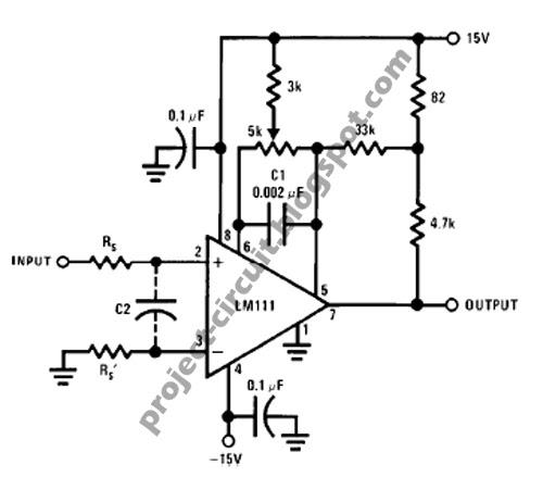 Electronics Technology Positive Feedback Circuit Using Lm111