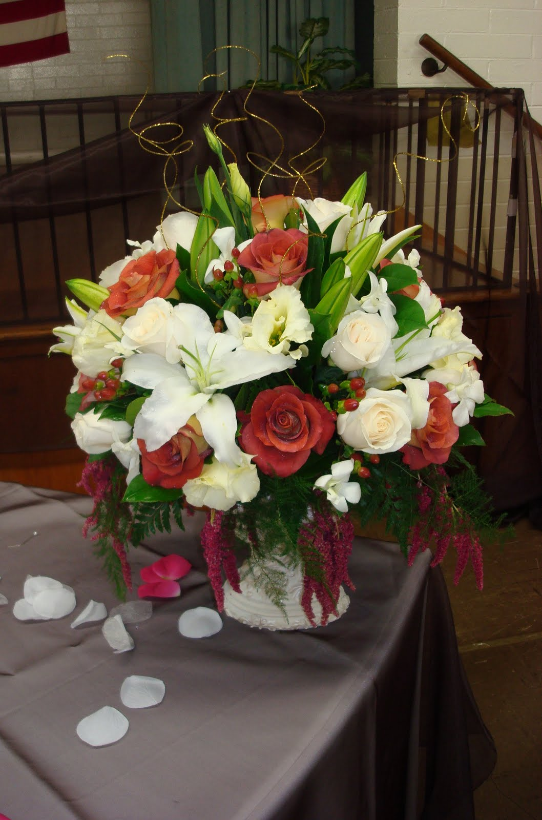Bernardo\u0026#39;s Flowers: 50th Anniversary Wedding Flowers