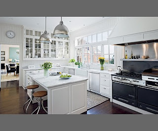 White Designer Kitchen