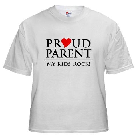 proud parent tshirt