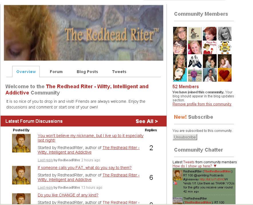 My BlogFrog Community