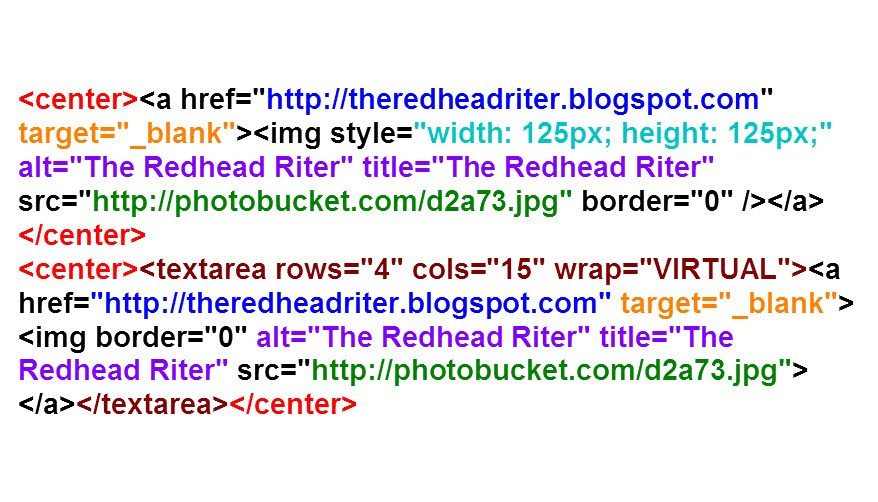 Blog button directions