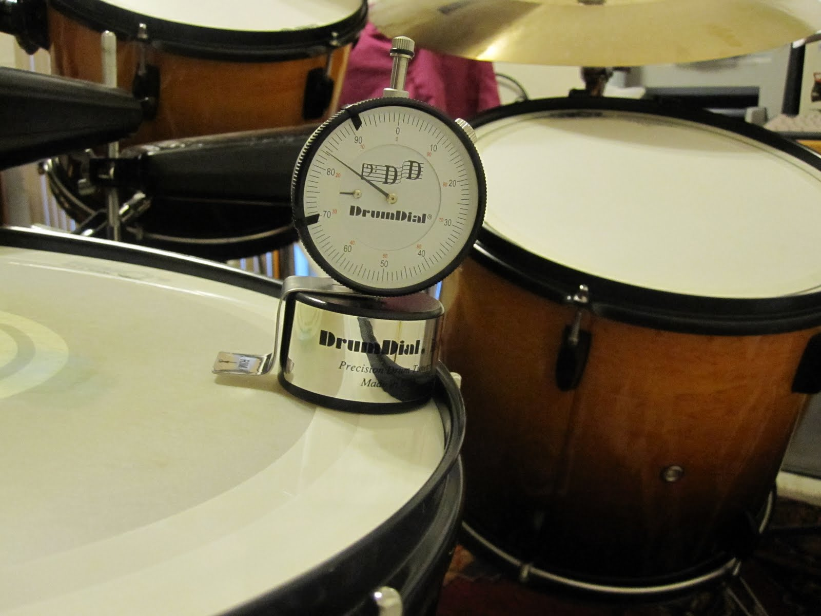 Tammy Drums to the Beat: Tuning Drums