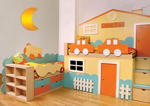 Paredes para el cuarto del bebe decoracion especial madera - Paredes habitacion bebe ...