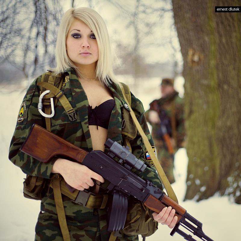 women females weapons - photo #25