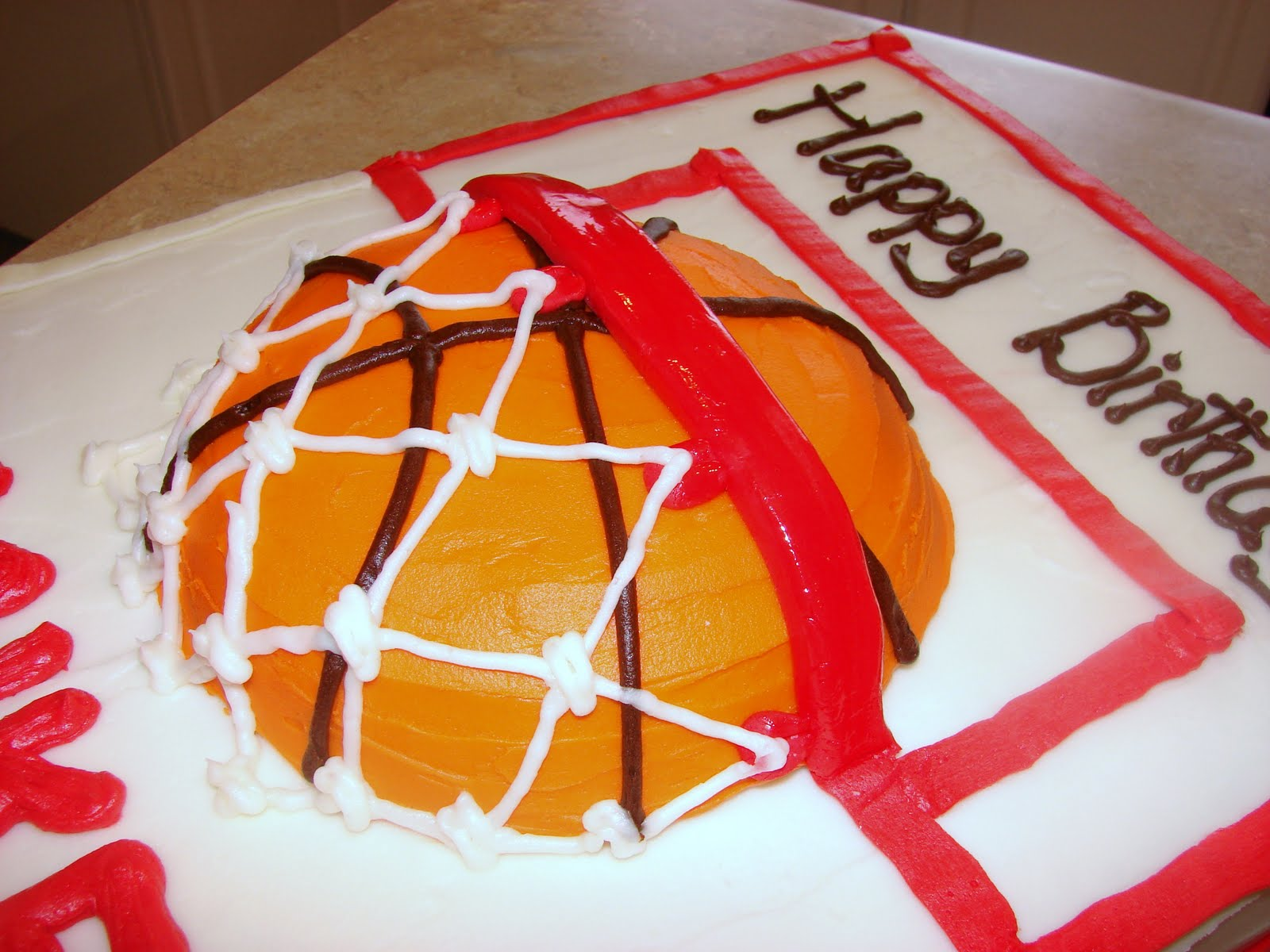 Slam Dunk Basketball Cake Ideas And Designs