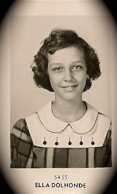 Sandra Perronne Mitten (circa 1950)