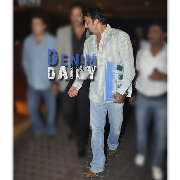 Denim Daily: Sanjay Dutt Launches TK Palaces
