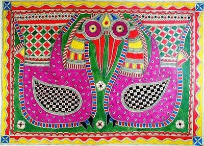 Madhubani painting – A folk art – Indian Mythology