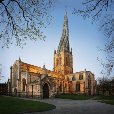 Chesterfield - All Saints church.