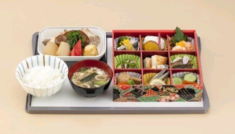 Brand new Japan Airlines (JAL) business class menu on Southeast Asia flights: Japanese choice