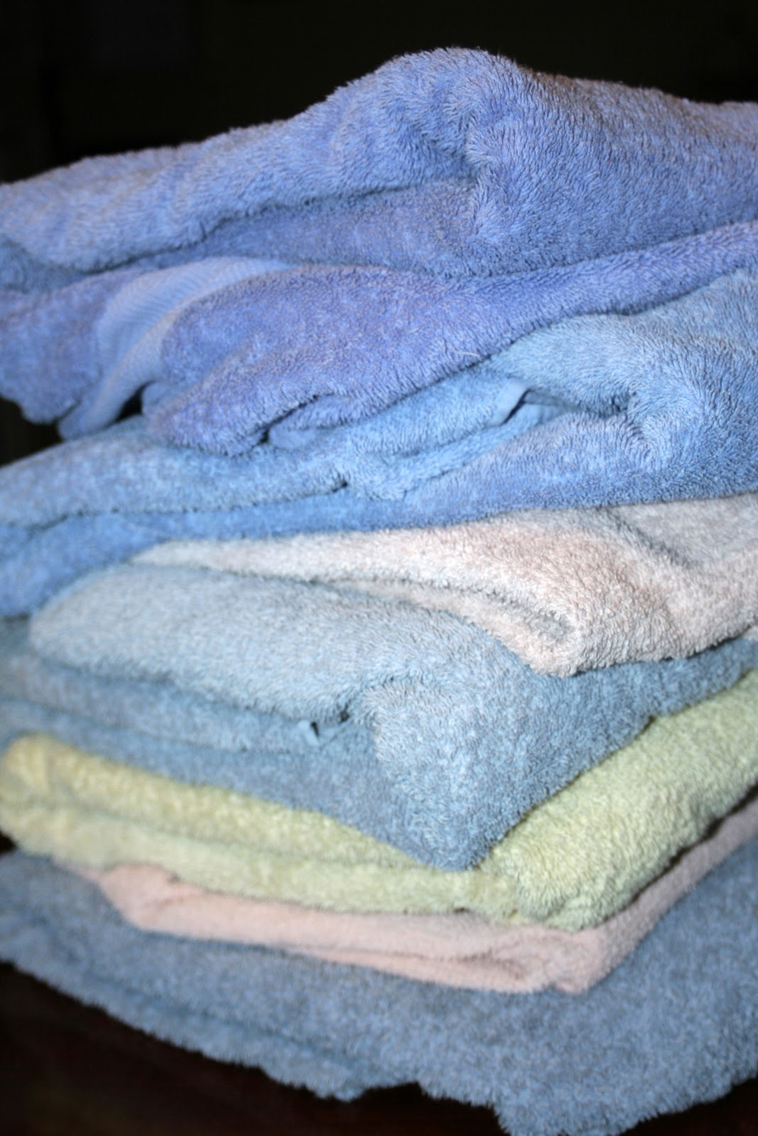 My Mind My Life Reusing Old Towels