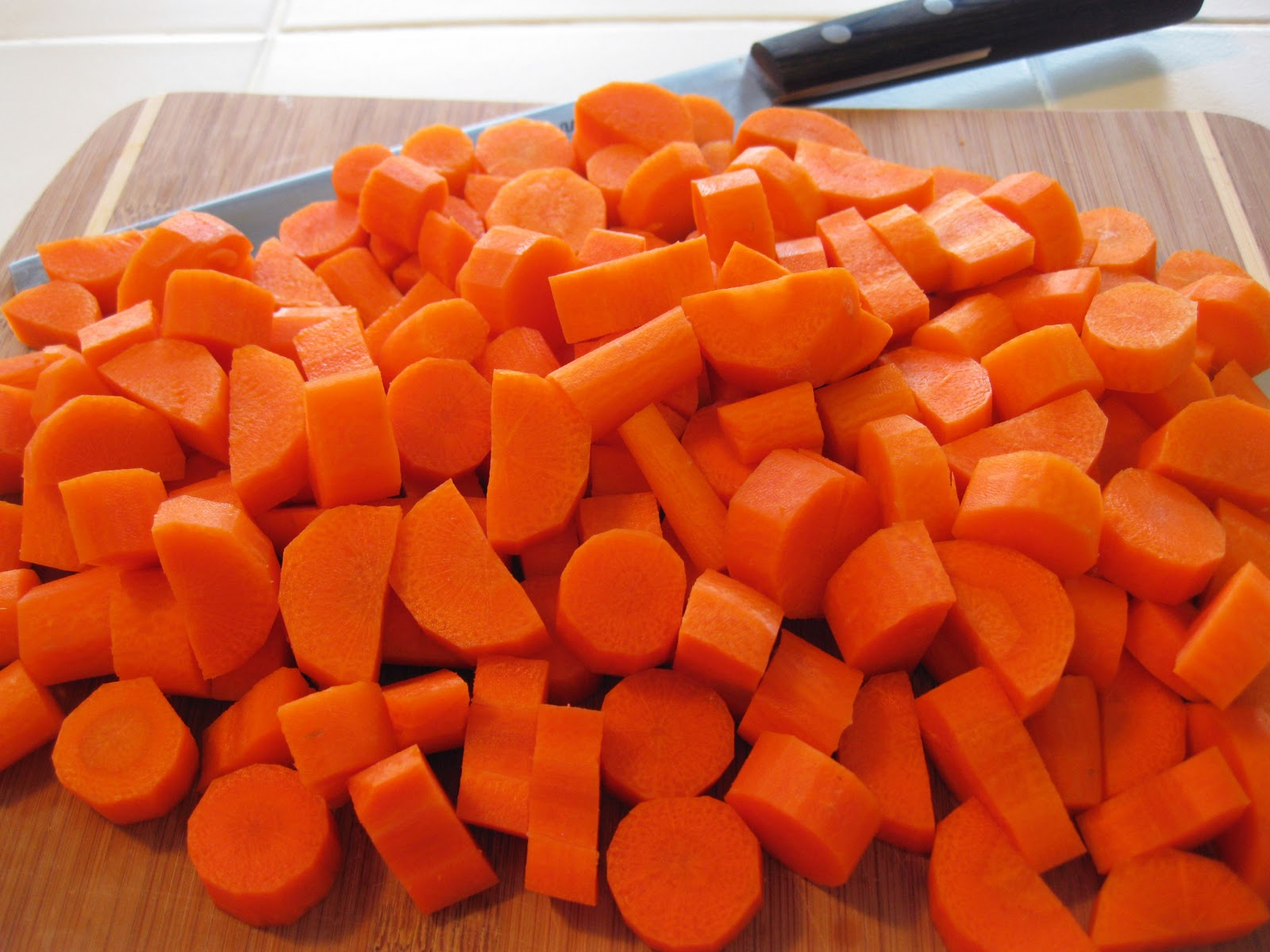 chopped carrots - photo #4