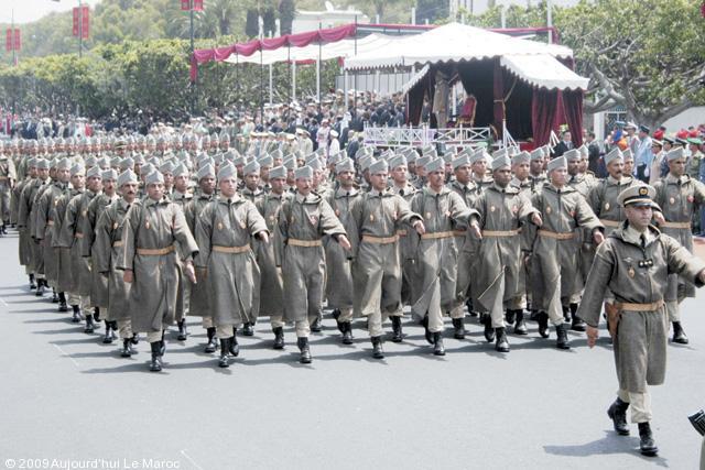 وضعية الجيش المغربي