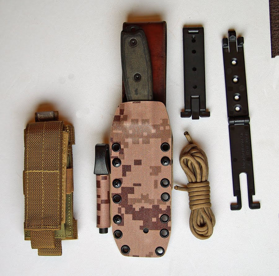 Sheaths For Knives: Technical Kydex