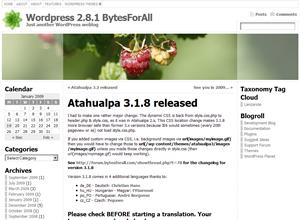 Atahualpa Theme screenshot
