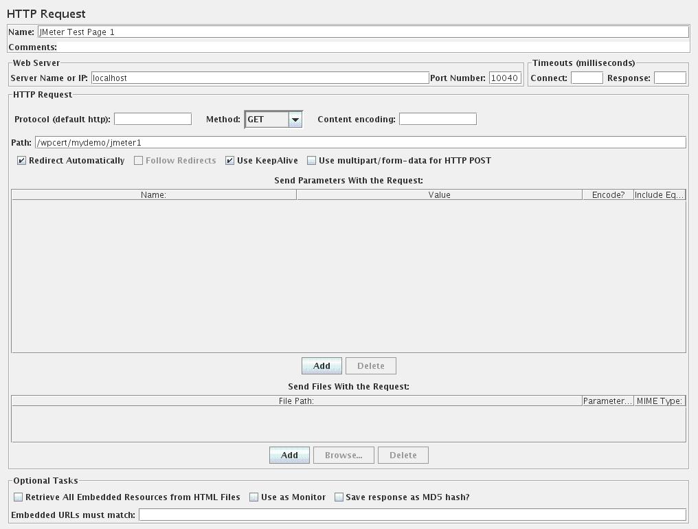 Sunil's Notes: Developing JMeter Test for WebSphere Portal