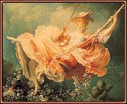 El columpio, por Fragonard.