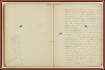 Manuscrito de 'A la sombra de las muchachas en flor'