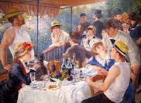 El almuerzo de los remeros, por Renoir