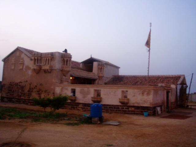 Lakhpat fort town Kutch Gujarat Travel Tourism Gurudwara mud