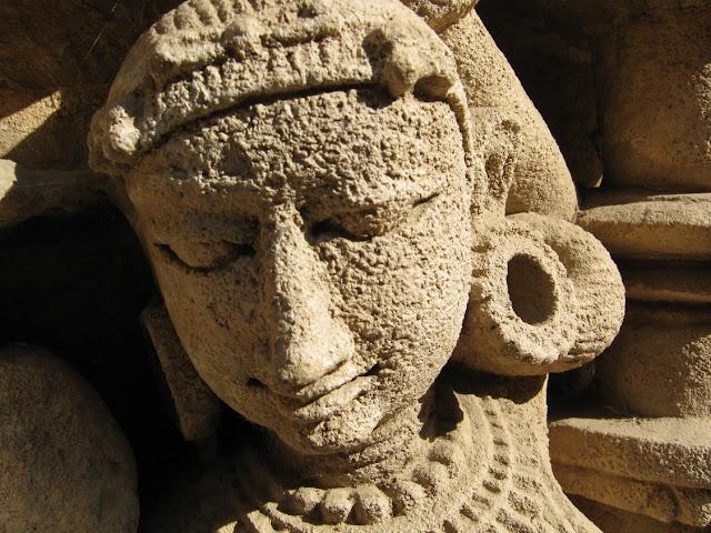 rani ki vav stepwell patan gujarat travel tourism carvings face