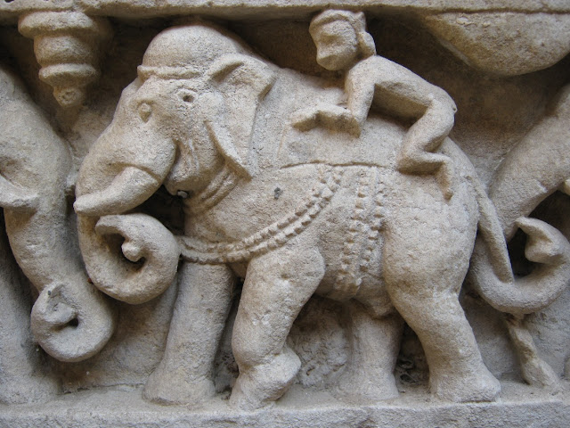 rani ki vav stepwell patan gujarat travel tourism elephant