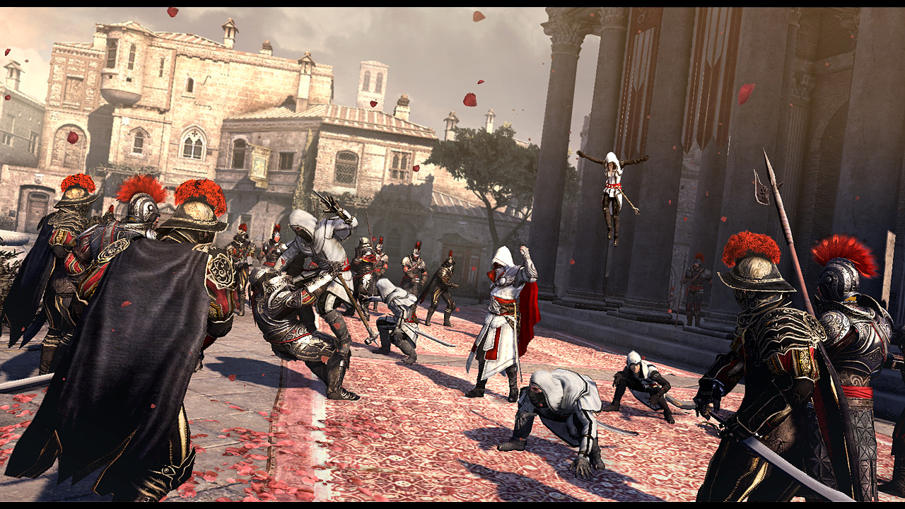 anything for anybody: About Assassin Creed : Brotherhood