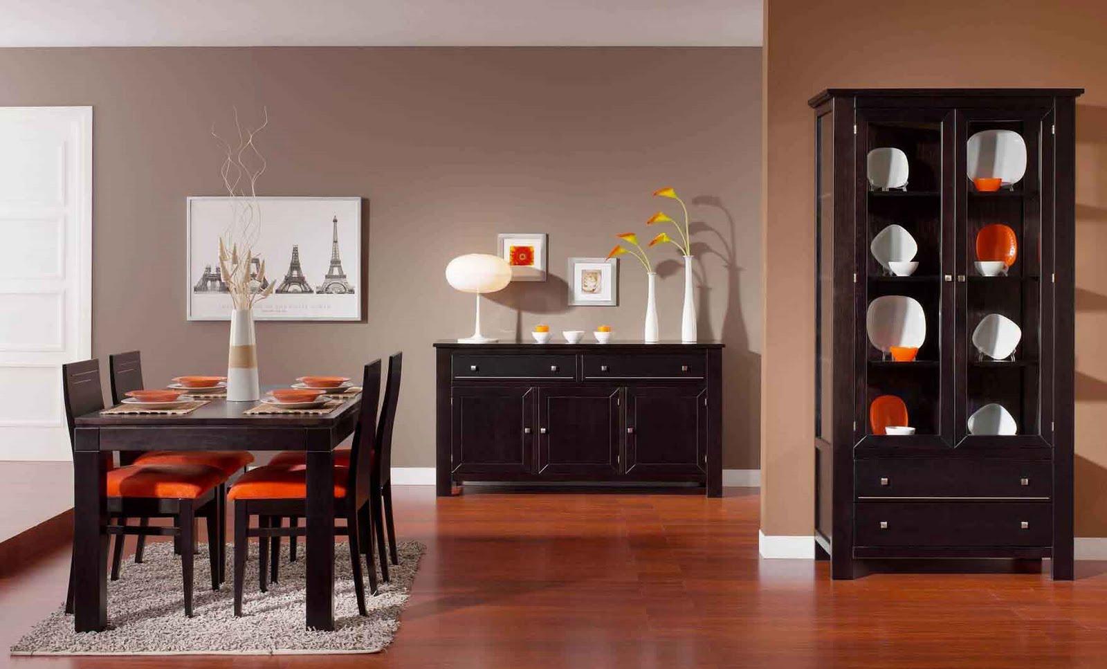 Dise o de interiores decoraci n del comedor for Decorar casa con muebles wengue