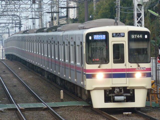 京王電鉄 通勤快速 本八幡行き1 9000系