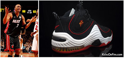 best service 17d2a 62fce D3ADSTOCK AVE: Nike Air Penny 2 Miami Heat Colorway