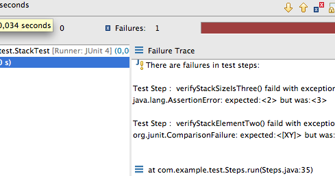 Welcome to my scratchpad: Example JUnit Test With Test Steps
