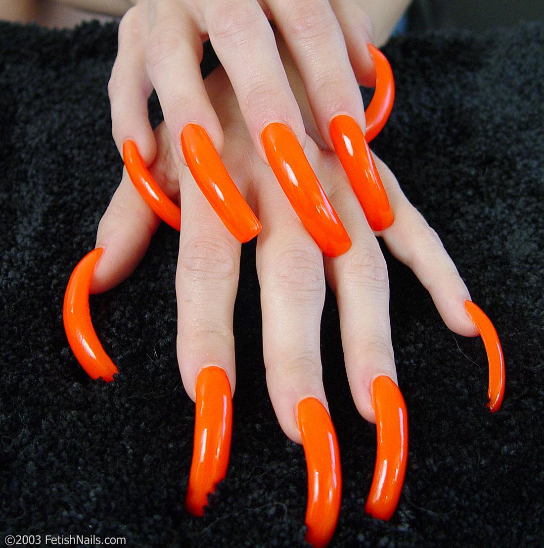 Long Nails Fetish Porn