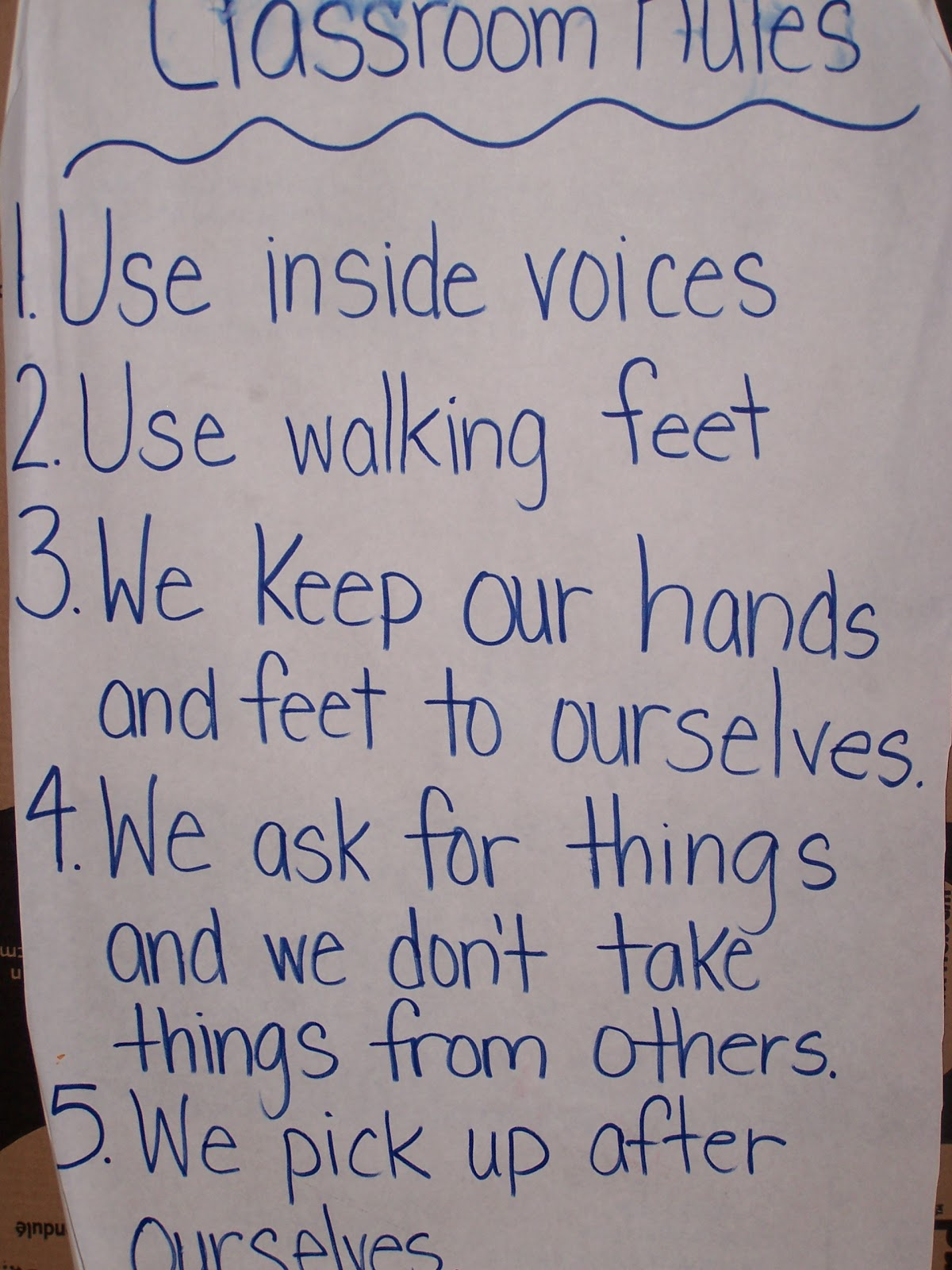 Learning And Teaching With Preschoolers Classroom Rules