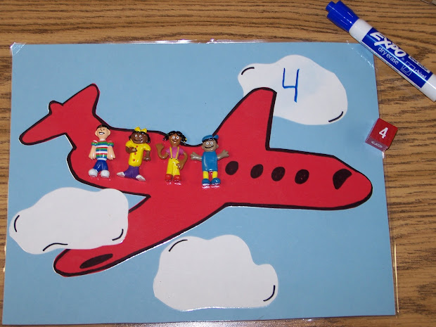 Transportation Math Preschool