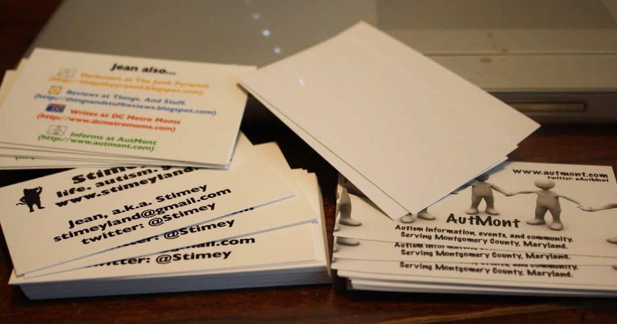 Business Cards Staples Vs Avery Print Your Own