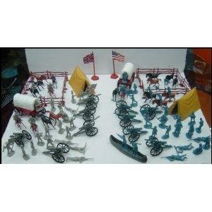 Civil War Army Men Toys 62