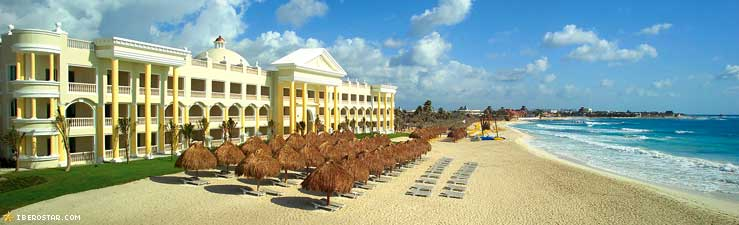 The Iberostar Grand Hotel Is A Five Star All Inclusive Resort That Sits Directly On Playa Paraiso Breathtaking Beach Just Minute Cab Ride From