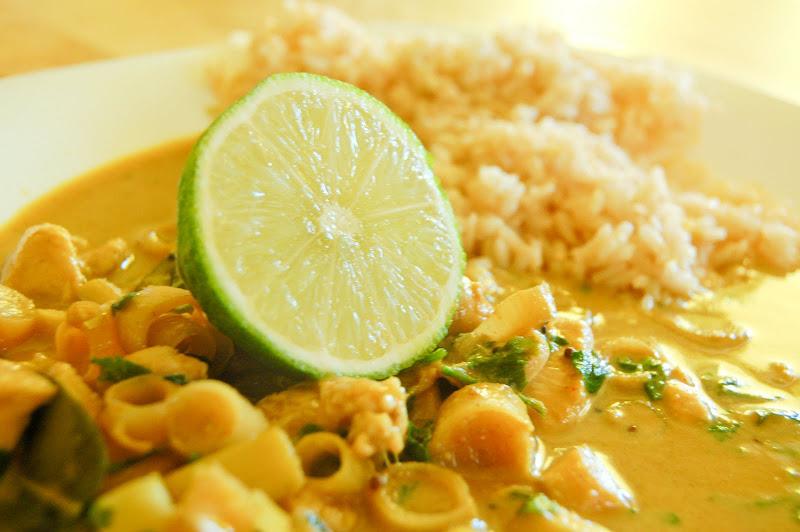 Korzenny tydzień. Tajskie curry.