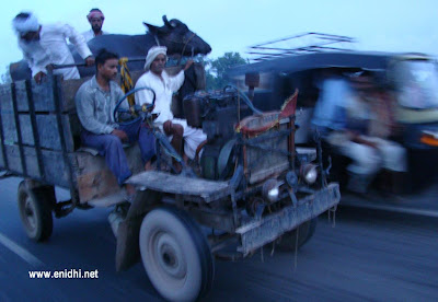 Assembled vehicles of North india!