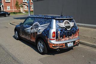 Wrapjax Blog Vehicle Wrap Graphics Company Seattle Mini