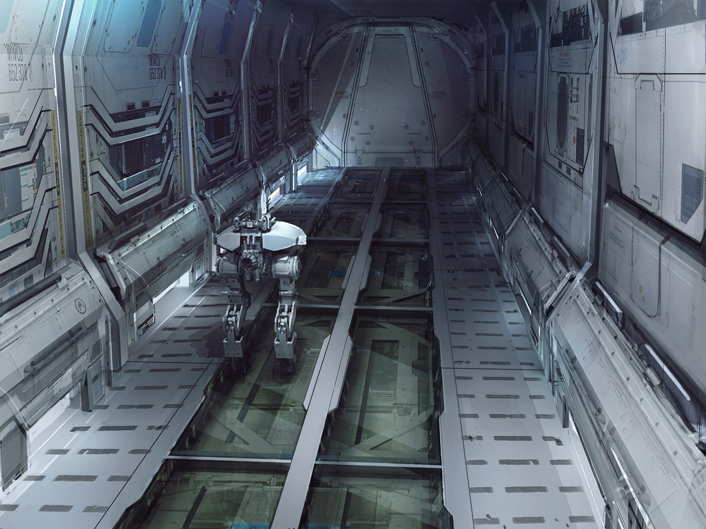 Inside Sci Fi Space Station - Pics about space