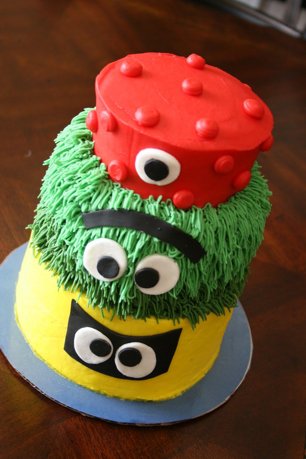And Everything Sweet Lo Lo S Yo Gabba Gabba Smash Cake