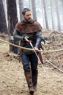 Denis as Robin Hood - Ridley Scott's Robin Hood