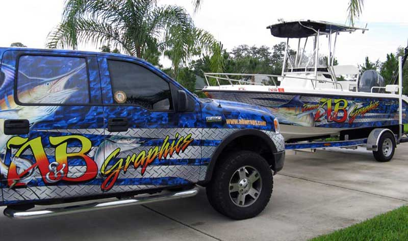 big dog graphic and wrap design fountain boat wrap wrap templates
