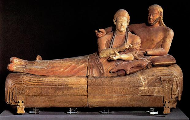 Funerary Ramblings Etruscan Art