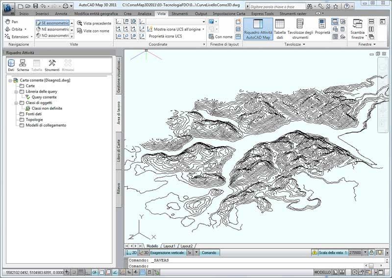 Il Blog italiano di AutoCAD Map e Civil 3D: Da curve di